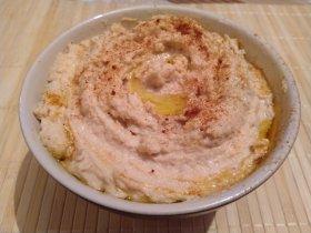 Хумус из белой фасоли