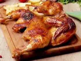 Курица запеченная в глазури