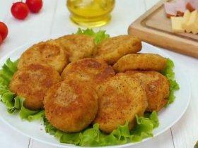 Картофельные котлеты с начинкой