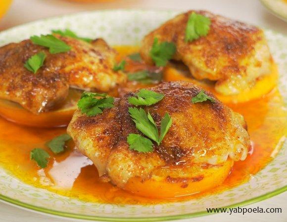 блюдо в духовке из курицы